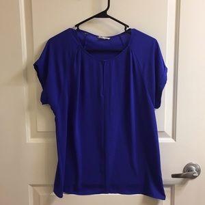 Francesca's Pleione Chiffon dress shirt